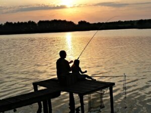 Рыбалка на черном хуторе