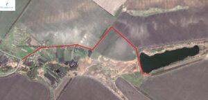 Схема подъезда на ставок Чёрный хутор