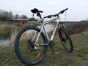 Велосипед для рыбака