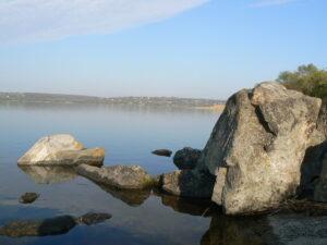 Рыбалка на камнях