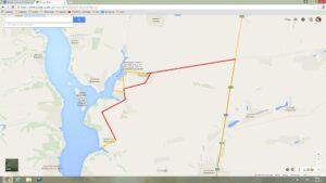 Карта проезда к воде