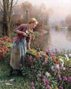 Daniel_Ridgway_Knight_- Women_Fishing2