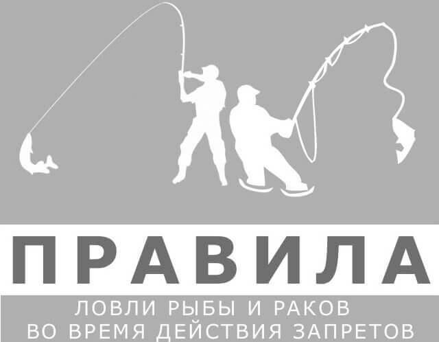 Правила ловли во время действия запрета