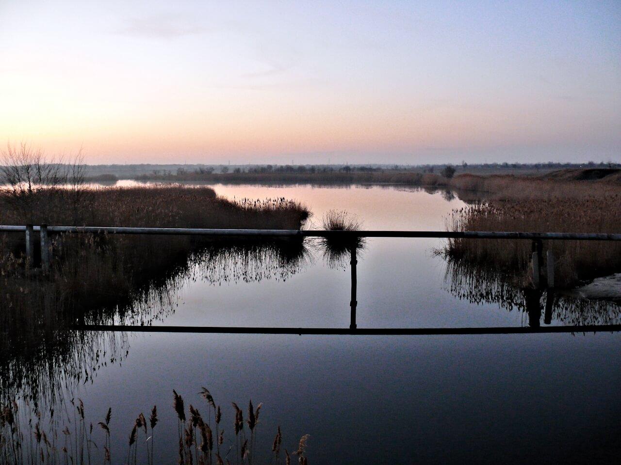 Разливы реки Самара озеро Бухенвальд