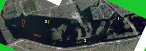 Карта глубин в районе шахты павлоградская