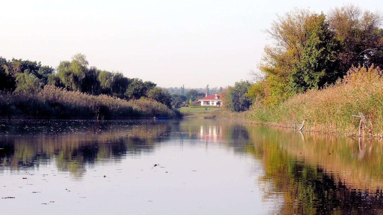Река Самара в Олефировке фото