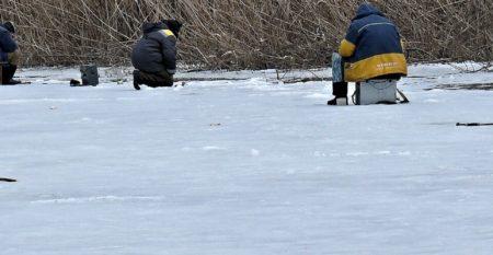 Баннер зимняя рыбалка
