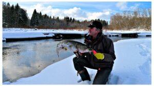 Зимние ботинки для рыбалки