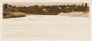 Река Волчья в Павлограде