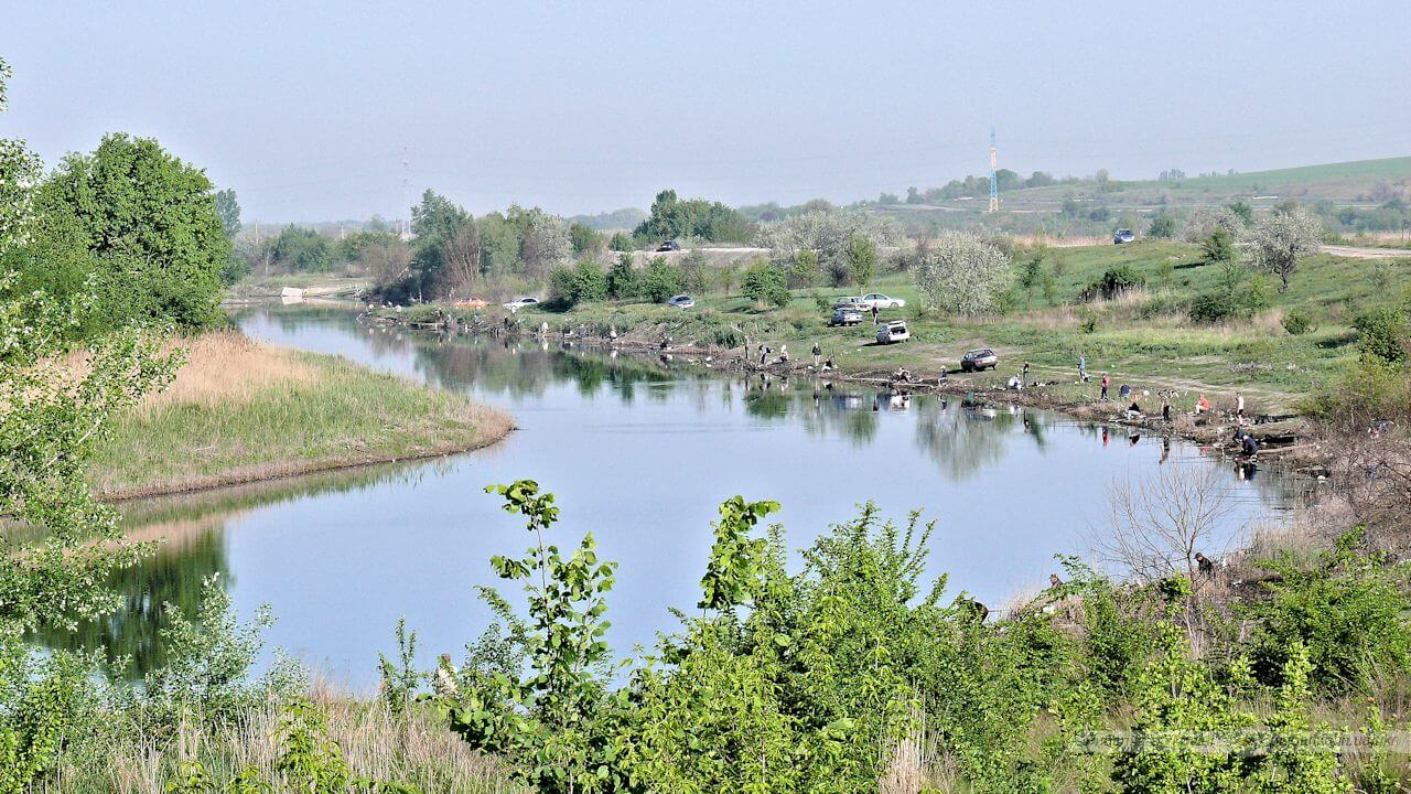 Рыбалка на Пеньках река Самара