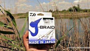 Обзор: шнур Daiwa J-BRAID X4 0.07