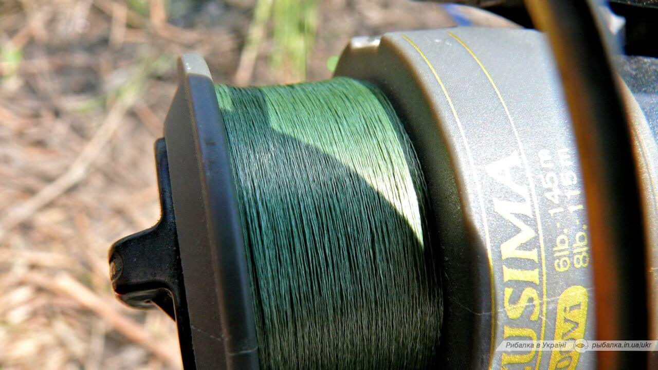 Обзор: шнур Daiwa J-BRAID Dark Green 0.07