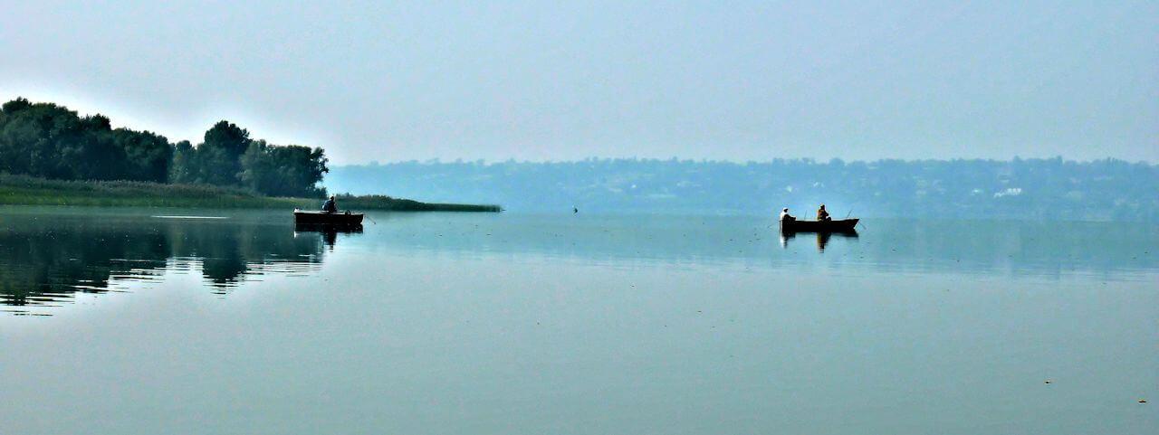 Foto Fishing in the Dnepr region