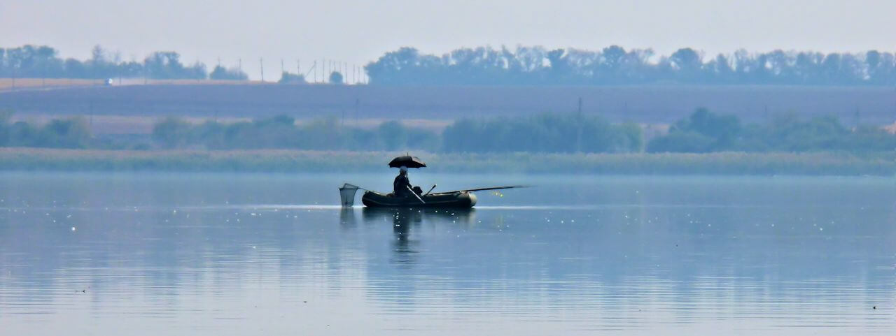 Foto Fishing in the Kharkiv region