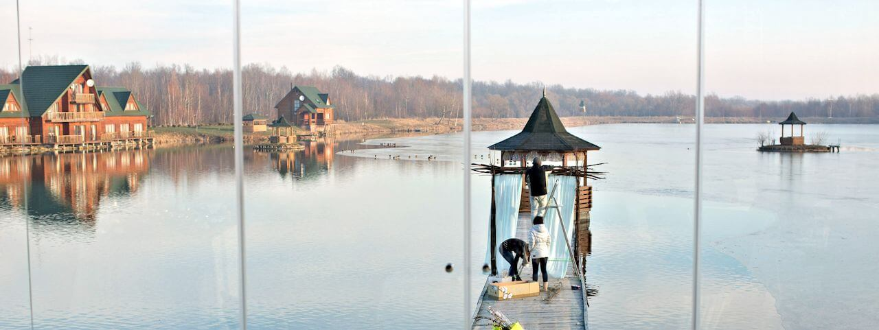Foto Fishing in the Lviv region