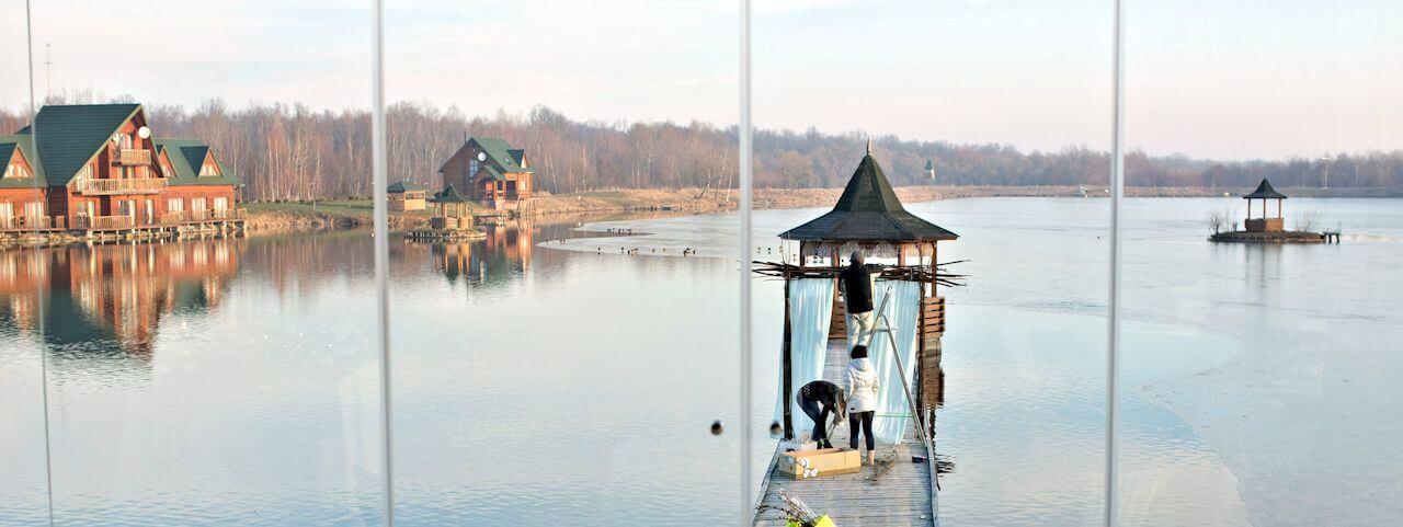 Foto Fishing in the Lviv region