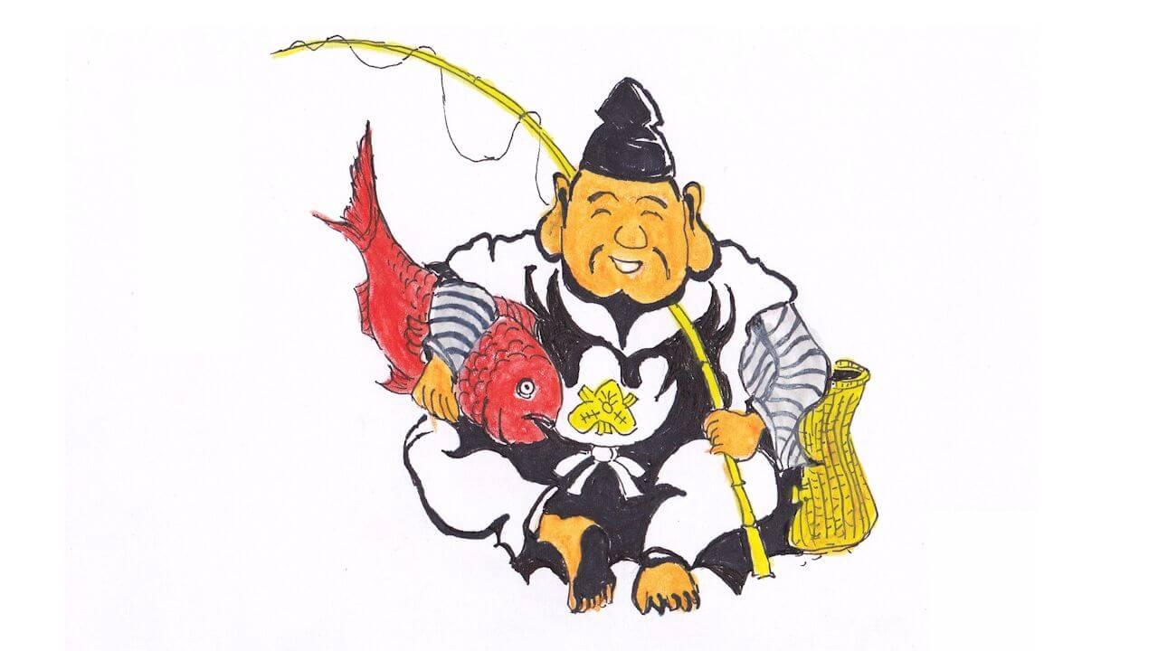 Японский Бог рыбацкой удачи