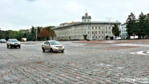 Красная площадь в Чернигове