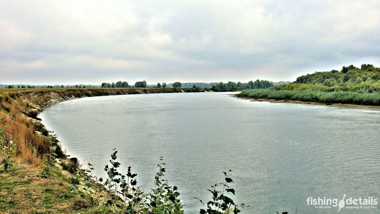 Осенняя река Десна