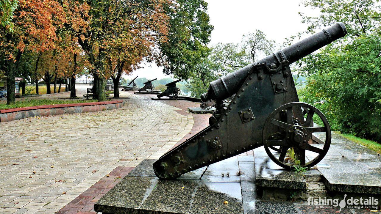 Крепостной вал в Чернигове