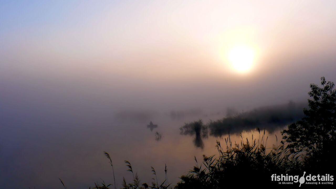 Утро на реке Самара