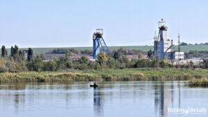 Река Самара в районе шахт