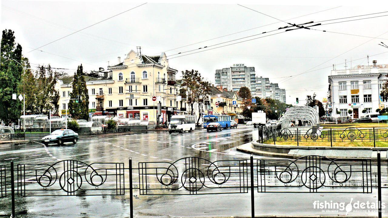 Чернигов переход на проспекте Мира