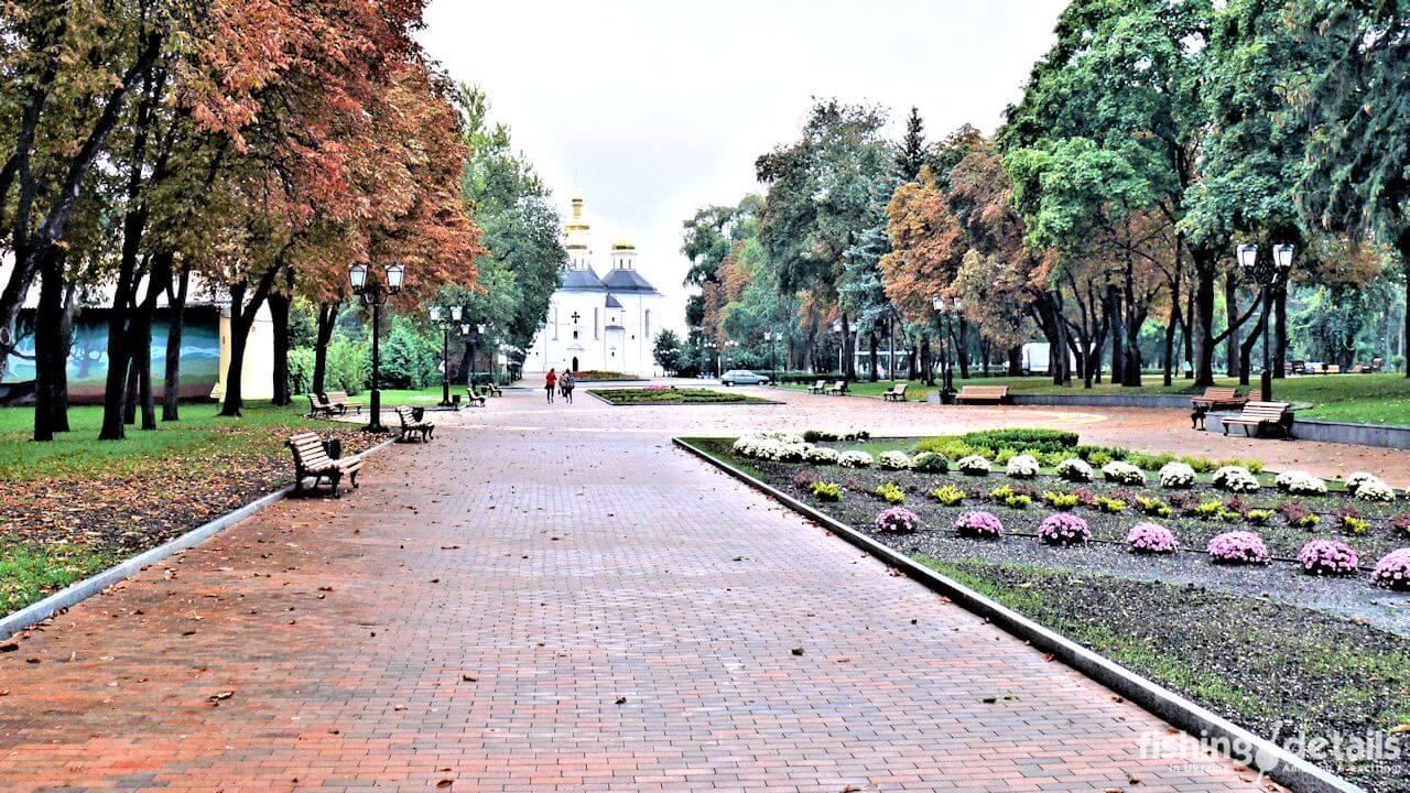Парк Детинец Сентябрь