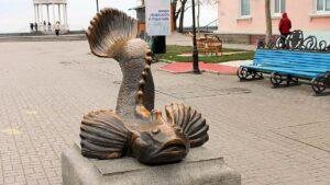 Памятник бычку-кормильцу г.Бердянск