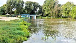 Рыбалка на реке Мена - Фото - Шлюз в городе Мена