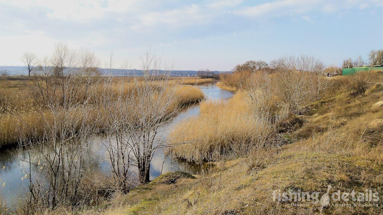 Зима 2020 река Волчья