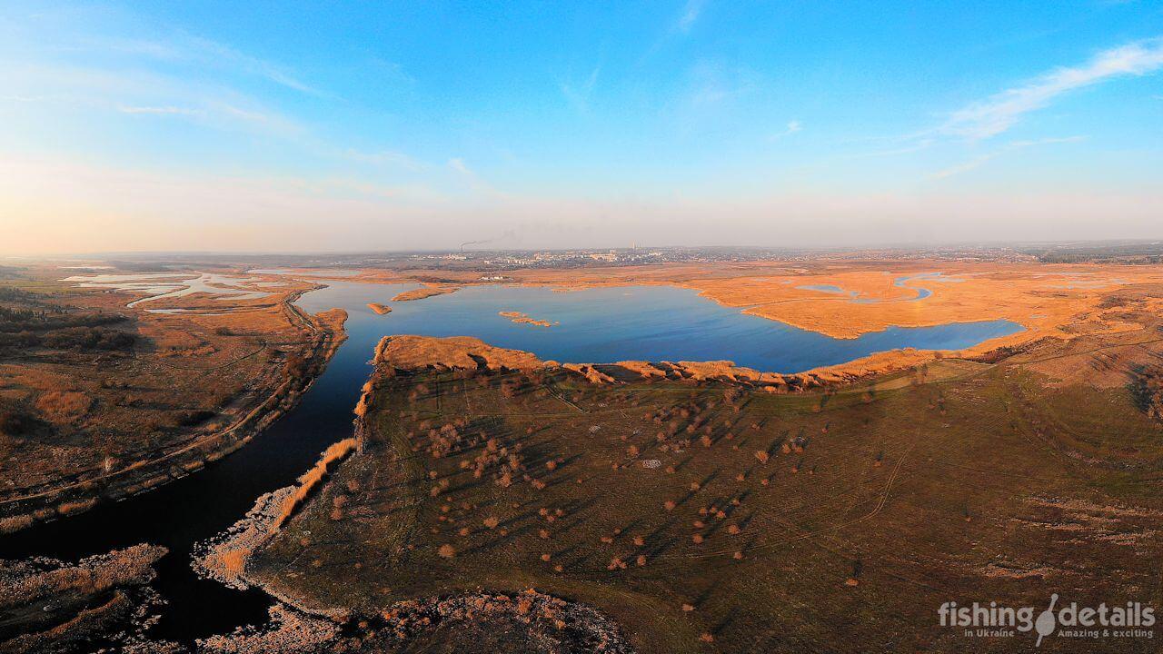Слияние рек Большая Терновка и Самара