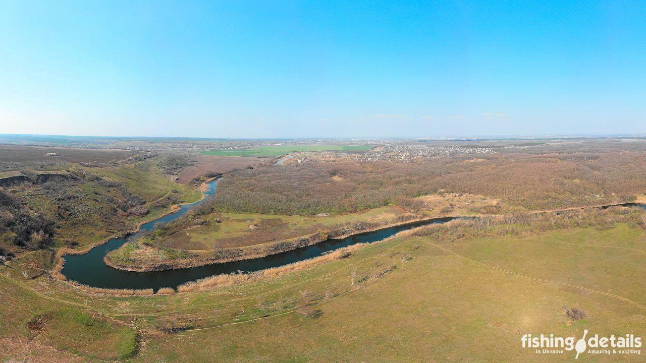 Алексеевский лес и река Волчья