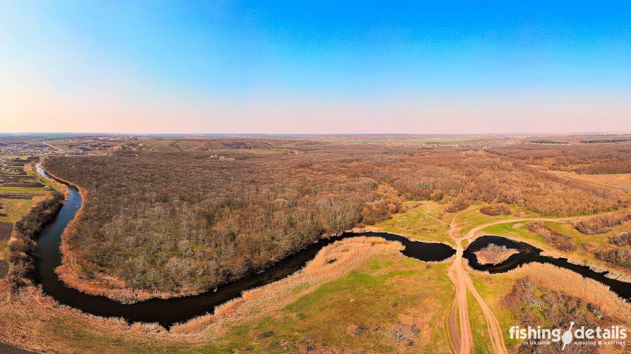 Река Волчья в Приволчанском