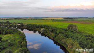 Поворот на канале Днепр-Донбасс