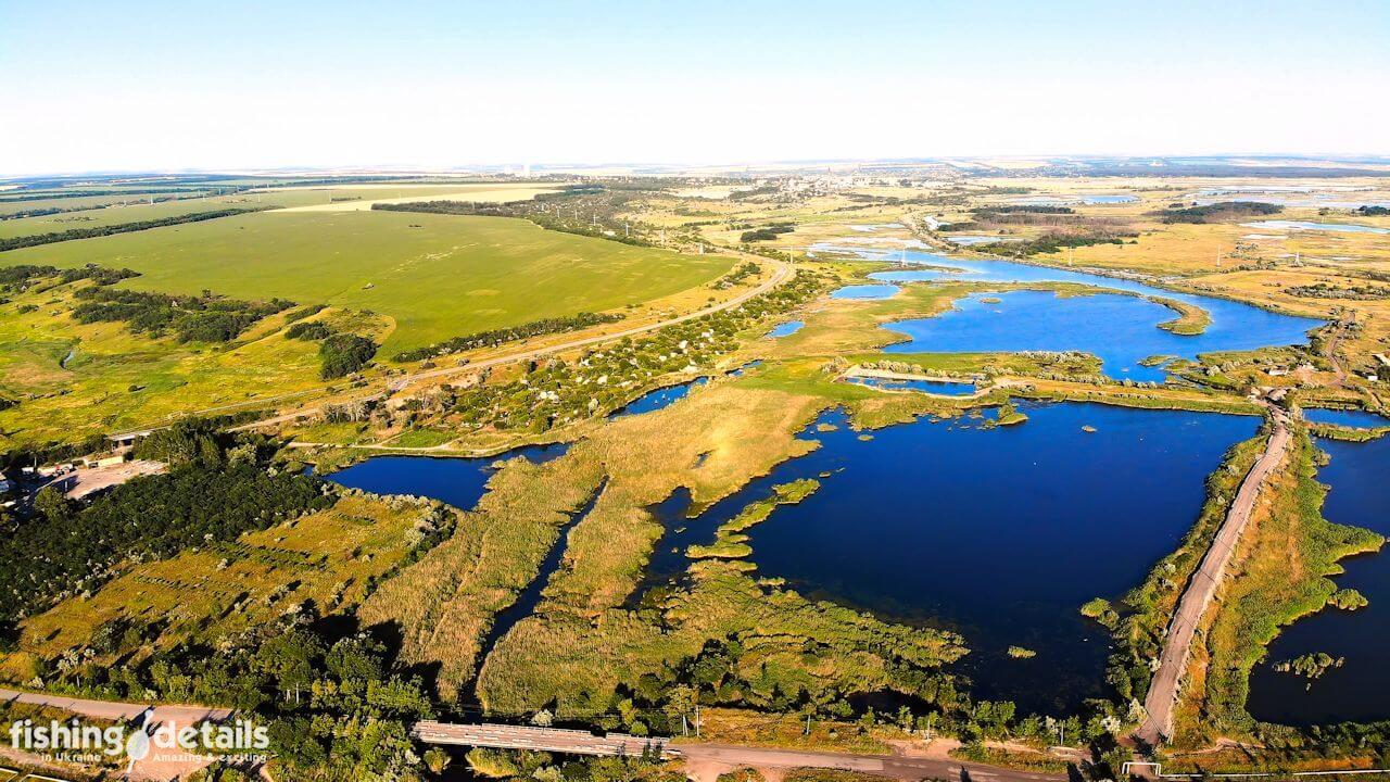 Озеро Гнилое на Самаре