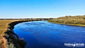 Рыбалка на Десне / Поворот реки