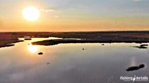 Закат в Гузыре - река Самара