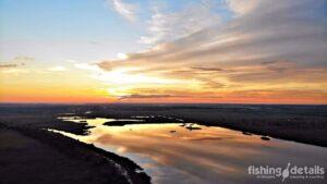 Закат на реке Самара