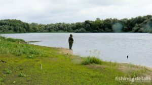Рыбалка на Десне 2021 - Под дождем