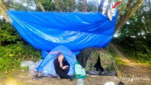 Рыбалка на Десне 2021 - Лагерь